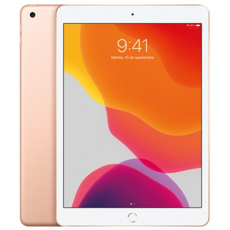 Chollo - Tablet Apple  iPad Wi-Fi 128 GB ORO 2019 A10 Fusion iPadOS